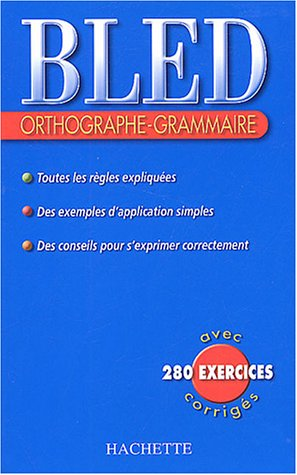 Orthographe-Grammaire