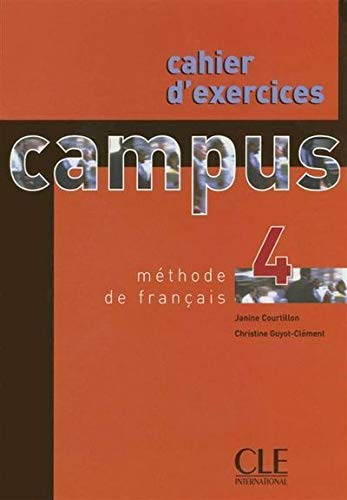 Campus 4 ; cahier d'exercices