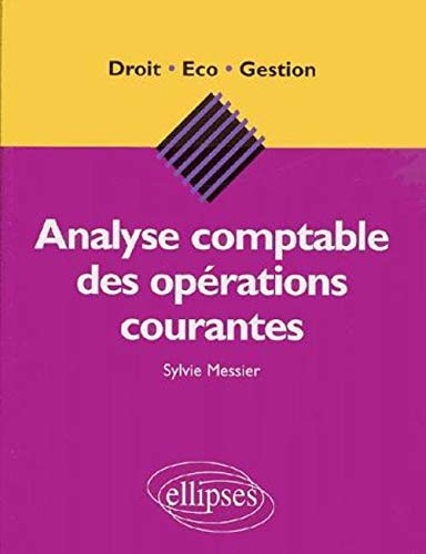Analyse comptable des opérations courantes