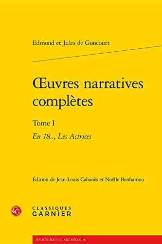 Oeuvres narratives complètes